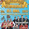In 18 Tagen bereits geht unser 5. Zipf Zapf Fest in Semriach über die Bühne